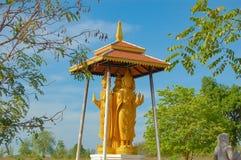 La simulación de las fotos y de filmar del mercado la Tailandia histórica imagen de archivo