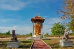 La simulazione delle foto e di ripresa del mercato della Tailandia storica immagini stock libere da diritti