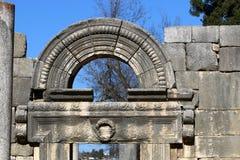 La sinagoga antigua en el parque nacional de Baram Fotografía de archivo