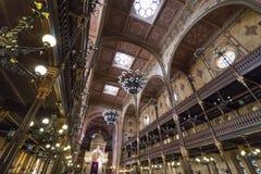 La sinagoga a Budapest Fotografia Stock