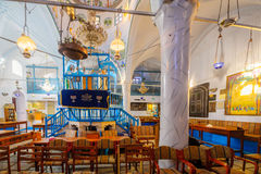 La sinagoga di Abuhav, nel quarto ebreo, Safed ( Tzfat) Immagini Stock