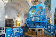 La sinagoga di Abuhav, nel quarto ebreo, Safed ( Tzfat) Fotografie Stock Libere da Diritti