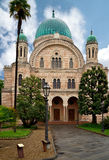 La sinagoga di Firenze Immagine Stock Libera da Diritti