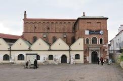 La sinagoga vieja, Kraków Fotografía de archivo libre de regalías