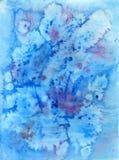 La sirène déchire la conception d'imagination de texture d'aquarelle images stock