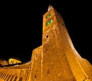 La Siria - la torretta della moschea di Umayyad a Damasco Immagine Stock Libera da Diritti