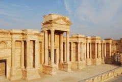 La Siria, Palmyra. Fotografia Stock Libera da Diritti
