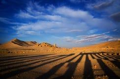 La Siria Palmyra Fotografie Stock