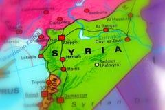 La Siria, Repubblica araba siriana fotografia stock
