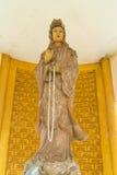 La situación antigua de la estatua de Guanyin Foto de archivo libre de regalías