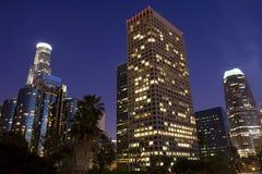 LA skyline Royalty Free Stock Image