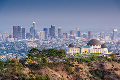 LA Skyline Royalty Free Stock Photos