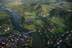 La Slovénie de l'air images stock