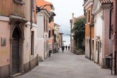 La Slovénie, vieille ville de Koper Photographie stock