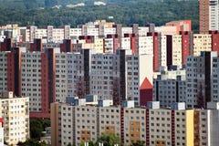 La Slovacchia, Bratislava, edifici residenziali Fotografia Stock Libera da Diritti