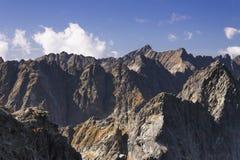 La Slovacchia, montagne di Tatra Immagine Stock