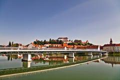 La Slovenia. Ptuj. Fotografie Stock Libere da Diritti