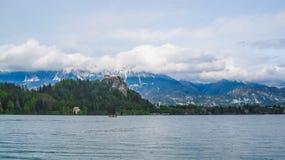 La Slovenia sanguinata fotografie stock libere da diritti