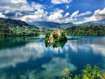 La Slovenia sanguinata fotografia stock