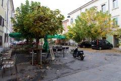 La Slovenia, vecchia città di Capodistria Fotografie Stock Libere da Diritti
