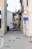 La Slovenia, vecchia città di Capodistria Immagine Stock Libera da Diritti