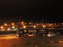 La société de DFDS célèbrent 150 ans d'anniversaire de service dans Klaipeda, Lithuanie Image libre de droits