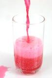 La soda rossa versa 3 Fotografie Stock Libere da Diritti
