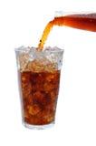 La soda vierte Foto de archivo