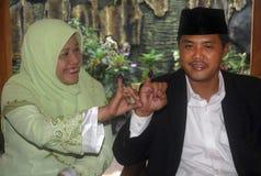 LA SOGLIA ELETTORALE DELL'INDONESIA Fotografie Stock