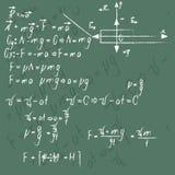 La soluzione di problemi nella fisica Fotografia Stock