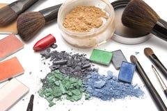 Cosméticos profesionales para el maquillaje Fotografía de archivo