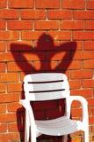La sombra olvidada Fotografía de archivo