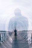 La sombra rodden Fotografía de archivo