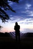 La sombra rodden Imagenes de archivo