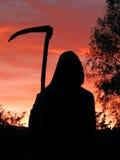 La sombra siniestra Fotos de archivo libres de regalías