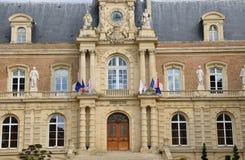 La Somme, la ville pittoresque d'Amiens photo stock