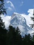La sommità del Matterhorn. Immagini Stock Libere da Diritti