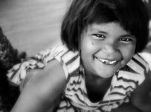 La sonrisa Foto de archivo