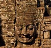 La sonrisa de Budha Foto de archivo libre de regalías
