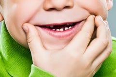 La sonrisa grande Foto de archivo libre de regalías