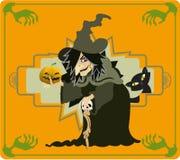 La sorcière Images stock
