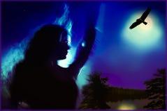La sorcière Photographie stock