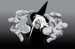 La sorcière mauvaise t'arrive Photo stock