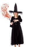 La sorcière veut vous enchanter photographie stock libre de droits