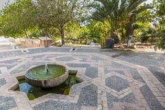 La sorgente di Alcazaba Immagini Stock Libere da Diritti