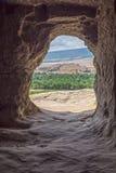 La sortie de la caverne Photographie stock libre de droits