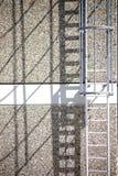 La sortie de secours jette des ombres Photo libre de droits
