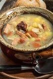 La soupe aigre faite de farine de seigle image libre de droits