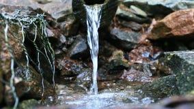 La source de Pecherskiy de l'eau sainte dans Turovo banque de vidéos