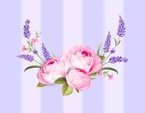 La source fleurit le bouquet Photographie stock libre de droits